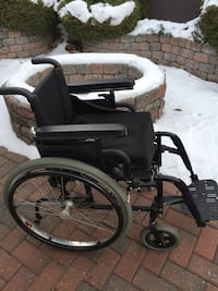 Custom Made Wheel Chair:  Quickie 2
