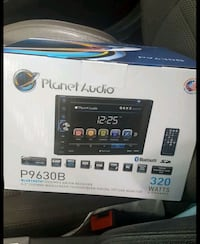 """Planet audio double din 6.2"""" dvd/cd/mp3/Bluetooth. Rock Hill, 29732"""