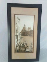 FRAMED PICTURE OF VENICE ITALY Caledon