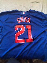 SOSA Cubs Jersey (21) with patch  Lubbock, 79411