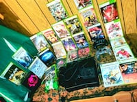 XBOX 360 BUNDLE-EVERYTHING INCLUDED ALL GAMES WORK PERFECT (SOME ARE B
