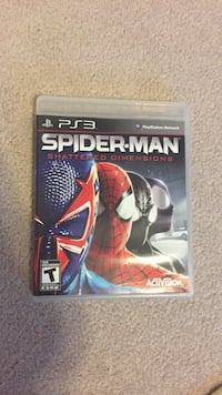 Spider man shattered dimensions for ps3 Coquitlam, V3J 2M6