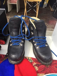 pair of black leather work boots Rohnert Park, 94928
