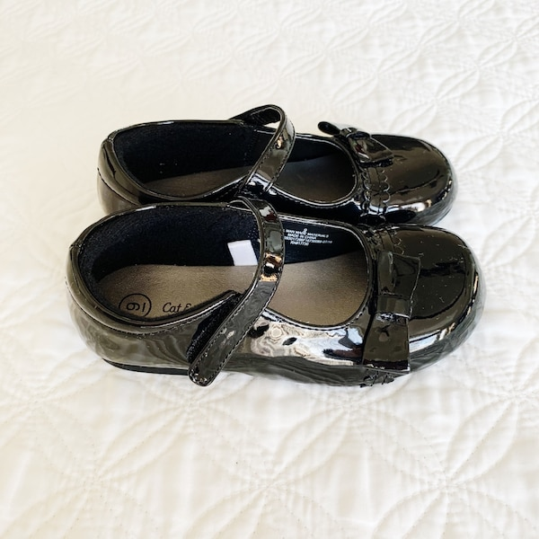 Cat and Jack Mary Jane Ballet Flats Black Size 9 f8f80648-900b-4c3f-a204-6a3577fa47d2
