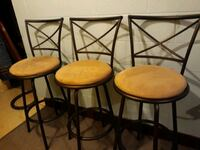 Barstools.  set of 3