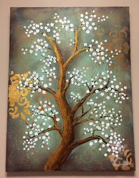 Japanese Blossom painting art