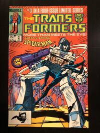 Marvel Comic - Transformers, Vol.1 No.3, Nov 1984. Mint condition New York, 11692