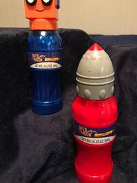 Over The Moon characters slime bottles