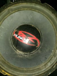 black and red Kicker subwoofer Lake Wales, 33859