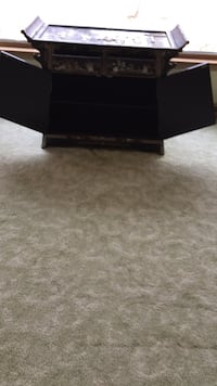 Black sony ps3 cabinet   mother of  pearl Gurnee