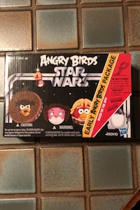 Angry Birds Star Wars Early Bird Package Intro Chewy, Leia, Luke, R2D2 Allentown, 18104