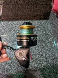 Vintage Penn fishing spinning reel