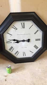 black and white analog wall clock Centreville, 20120