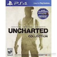 Uncharted nathan drake collection ps4 oyun kutusu Germencik, 09700