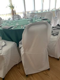 White chair covers ...about 300 count...asking for 300$ or best offer  Macungie, 18062