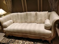 Large elegant beige-white sofa set for living room Richmond, V7C 1V0
