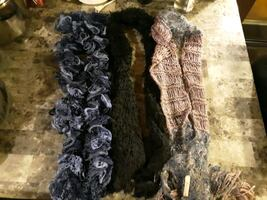 3 womens scarves
