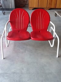 Glider refinished 1950-60's Eunice, 70535