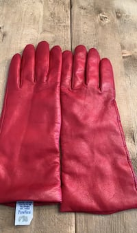 Downed Red Leather Gloves Richmond Hill, L4E 4B8