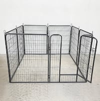 "New $90 Heavy Duty 40"" Tall x 32"" Wide x 8-Panel Pet Playpen Dog Crate Kennel Exercise Cage Fence Play Pen South El Monte"