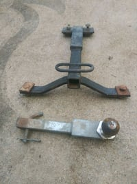 Receiver hitch and receiver 1/4