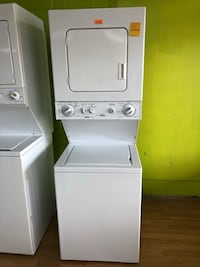 """Kenmore white stacked washer and dryer unit 24"""" Woodbridge, 22191"""