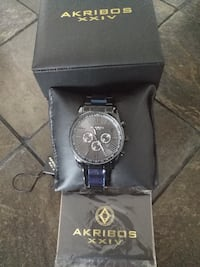 Akribos XXIV AK736 Swiss Quartz Men's Watch  Toronto