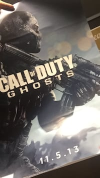 Call of Duty Ghosts poster Thibodaux, 70301