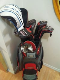 black and red golf bag Edmonton, T6B 0C6