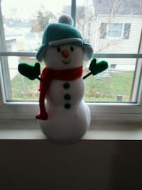 Snowman Christmas decoration Perry Hall, 21128