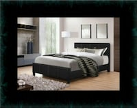 Full platform bed with box spring Crofton