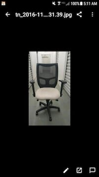 Off white black office rolling armchair screenshot Los Angeles, 90049