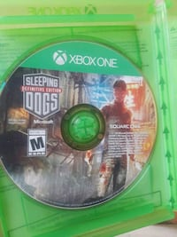 SLEEPING DOGS DEFINITIVE EDITION XBOX ONE Fort Worth, 76109