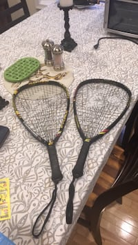 Two racketball rackets. Excellent condition  Oakton, 22124