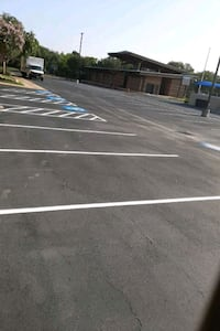 parkin lot painting  Houston