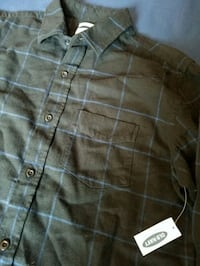 Mens Plaid Button Up Shirt With Tag Overland Park, 66210