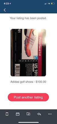 Powerband 3.0 Adidas golf shoes screenshot