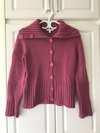 pink button-up sweater Markham, L3P 0V8