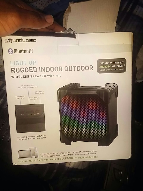 Soundlogic Bluetooth Light Up Speaker – Inspirational Lighting