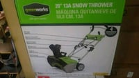 Greenworks Snowblower New NIB Baltimore, 21231