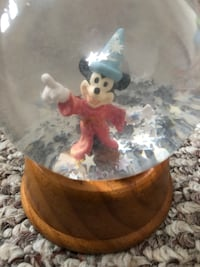 Vintage Disney Mickey Mouse sorcerer snow globe Washington, 20003