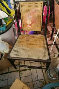 Pair of wicker chairs cabana style ok cond Mission Viejo, 92692