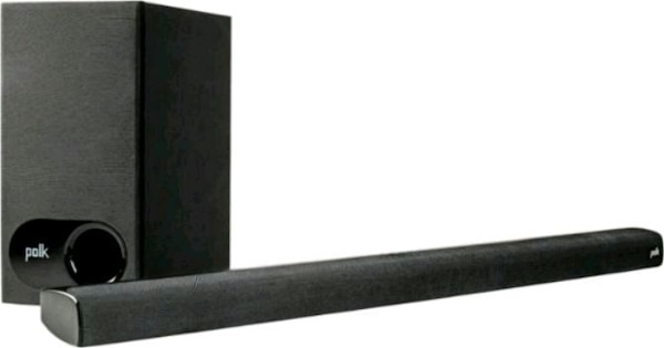 Polk Audio - 2.1-Channel Soundbar System with Wire