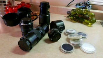Camera Lens Lot 4 lenses in total!