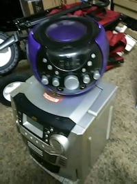 black and purple canister vacuum cleaner Omaha, 68104