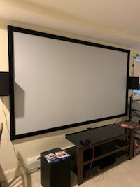 """120"""" inches silver ticket projection screen Fairview, 07022"""
