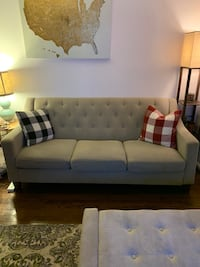 Target Taupe Tufted Sofa - Threshold Fairfax, 22031