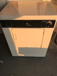 White and black front load clothes dryer Parlin, 08859