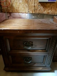 Solid wood end table. I have 2. 20.00 each Barrie, L4N 0P4