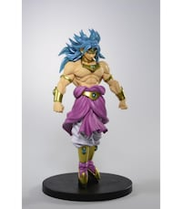 Figura BROLY DRAGON BALL Z BANPRESTO GOKU MADRID